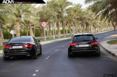 Audi RS4 Avant на дисках ADV5.0 Track Spec SL Series