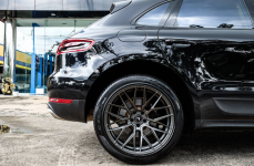 Porsche Macan на дисках Vorsteiner V-FF 107 Carbon Graphite
