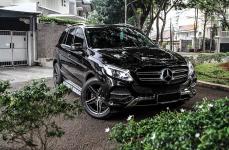 Mercedes GLE-Class на дисках VOSSEN VFS5