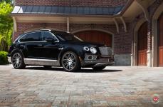 Bentley Bentayga на дисках VOSSEN FORGED VPS 307T