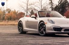 Porsche Carrera 4s на дисках Rohana RFX5
