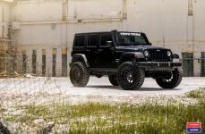 Jeep Wrangler на Дисках VOSSEN X WORK VWS-1