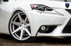 Lexus IS250 на дисках Rohana RC7 Machine Silver