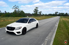 Mercedes-Benz S63 на дисках Vossen Forged VPS-305T
