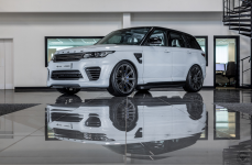 Land Rover Range Rover Sport на дисках URBAN AUTOMOTIVE x VOSSEN FORGED UV-2