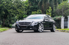Mercedes Benz S 400 на кованых дисках Vossen Forged CG207 R21