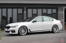 BMW 7 (F01, F02, F03, F04) на дисках VOSSEN FORGED VPS 314T