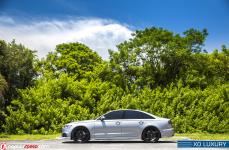 Audi S6 Gray 2017 with XO Luxury Caracas R22