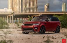 Land Rover Range Rover Sport на дисках VOSSEN HF-1