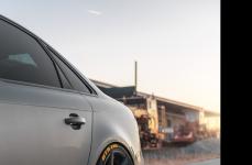 Audi S4 Gray на дисках Rohana RC7 Matte Graphite