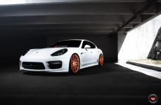 Porsche Panamera на дисках VOSSEN FORGED VPS 314