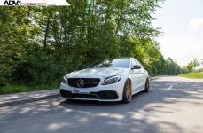 Mercedes C63S на дисках ADV5.2 M.V2 CS