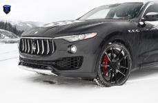 Maserati Levante на дисках Rohana RF2 Matte Black