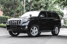 Toyota Land Cruiser Prado на дисках