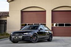 Audi A4 B9 на дисках Vorsteiner V-FF 103 Carbon Graphite 19