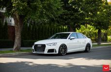 Audi A4 на дисках VOSSEN CVT