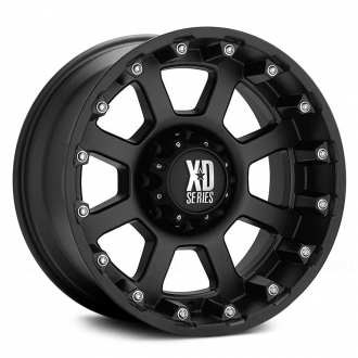 KMC XD SERIES - STRIKE Matte Black