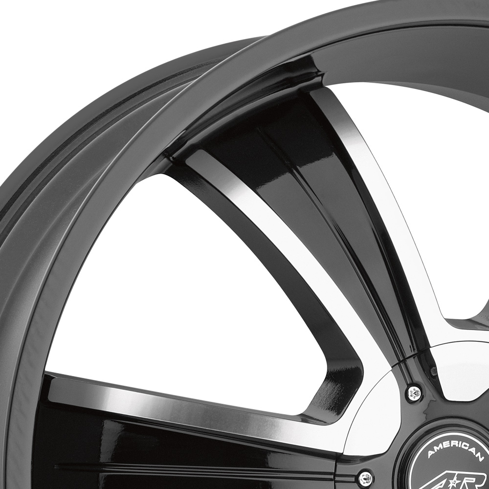AMERICAN RACING AR894 Gloss Black with Machined Face