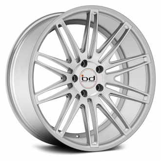 BLAQUE DIAMOND - BD-2 Silver with Polished Face