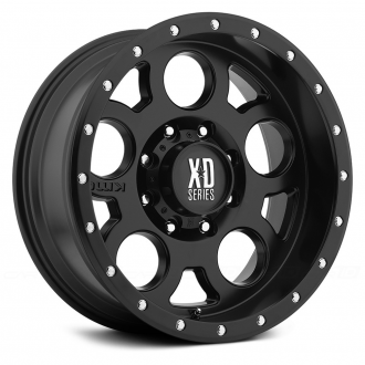 KMC XD SERIES - XD126 ENDURO Satin Black