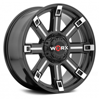 WORX - 806BM TRITON Gloss Black with Milled Accents and Clear Coat