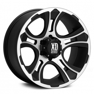 KMC XD SERIES - XD801 CRANK Matte Black with Machined Face