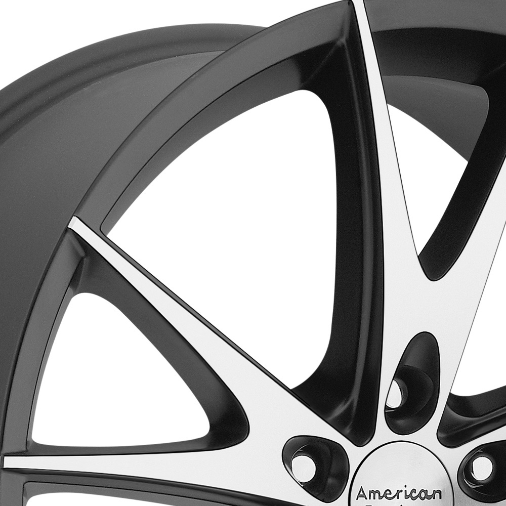 AMERICAN RACING AR903 Gloss Black with Machined Face