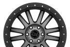 BLACK RHINO TANAY Matte Black with Machined Face and Dark Tint