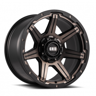 GRID OFF-ROAD - GD-6 Metallic Dust with Matte Black