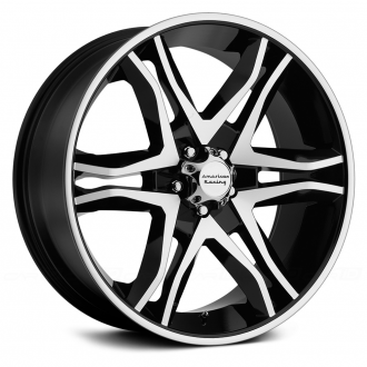 AMERICAN RACING - AR893 MAINLINE Gloss Black with Machined Face