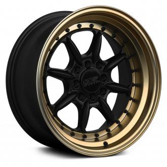 XXR - 002.5 Flat Black with Bronze Lip