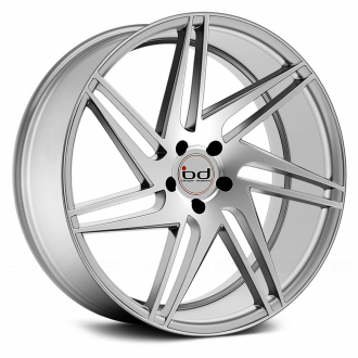 BLAQUE DIAMOND - BD-1 Silver with Polished Face