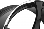 ADVANTI RACING DENARO Gloss Black with Machined Lip