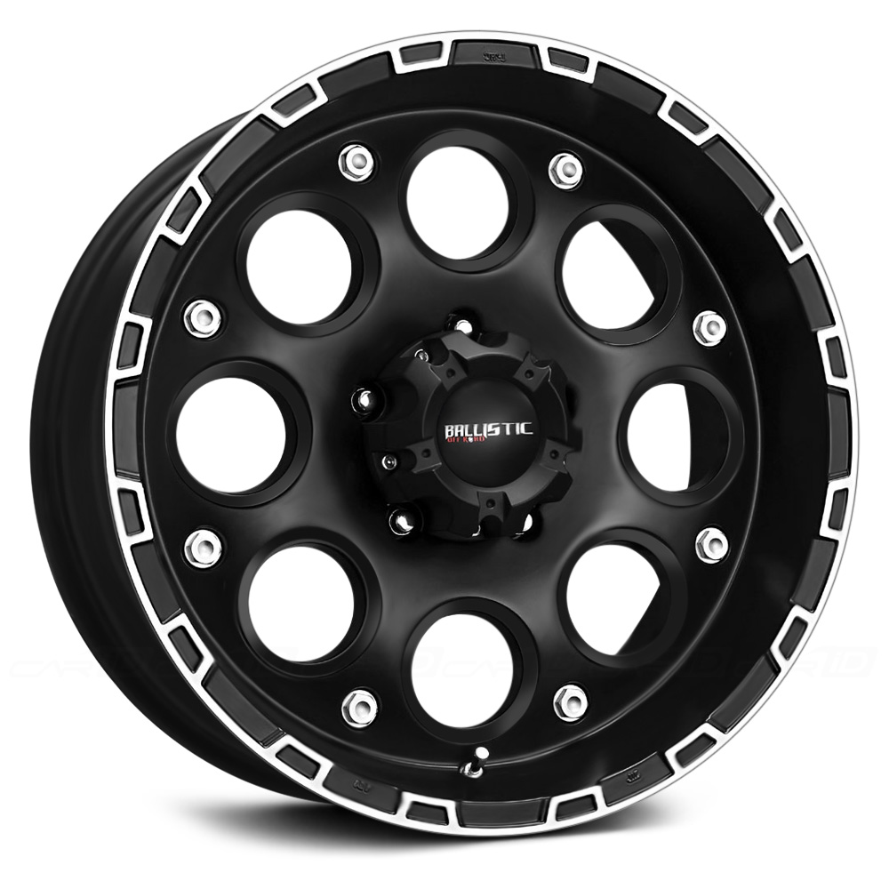 BALLISTIC ENIGMA Flat Black with Machined Accents