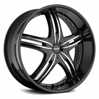 MKW - M105 Gloss Black with Machined Face