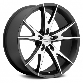 AMERICAN RACING - AR903 Gloss Black with Machined Face