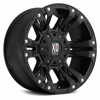 KMC XD SERIES - XD822 MONSTER 2 Satin Black