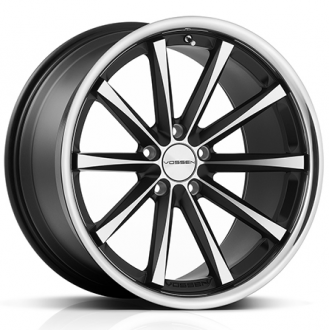 VOSSEN - CV1 Matte Black with Machined Face