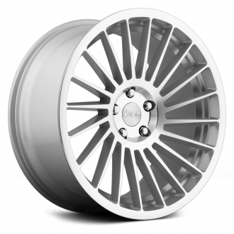 ROTIFORM - IND-T Silver with Machined Face