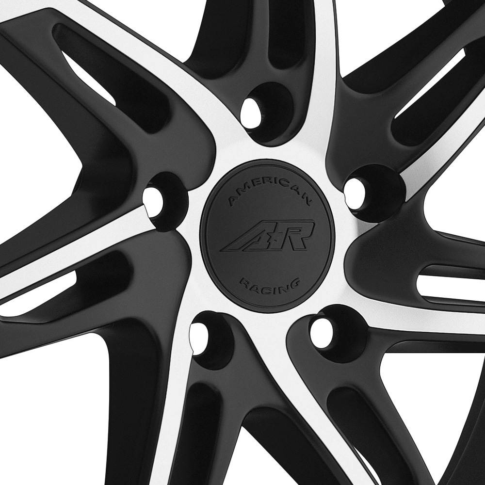 AMERICAN RACING AR900 Gloss Black with Machined Face