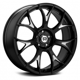 MOTEGI RACING - MR126 Gloss Black with Milled Accents