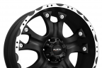BALLISTIC HOSTEL Flat Black with Machined Flange