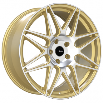 ADVANTI RACING - CLASSE Gold with Machined Face