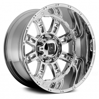 KMC XD SERIES - RIOT Chrome