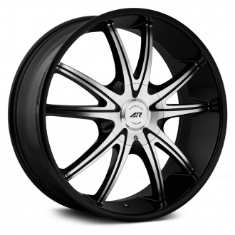 AMERICAN RACING - AR897 Gloss Black with Machined Face