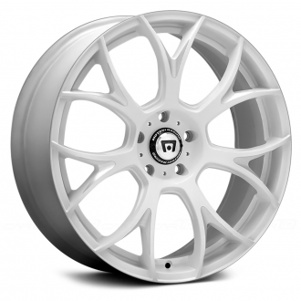 MOTEGI RACING - MR126 Matte White with Milled Accents