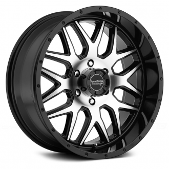 AMERICAN RACING - AR910 Gloss Black with Machined Face
