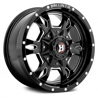 BALLISTIC - MACE Gloss Black with Milled Accents