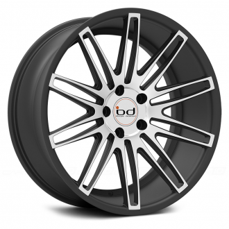 BLAQUE DIAMOND - BD-2 Matte Graphite with Machined Face