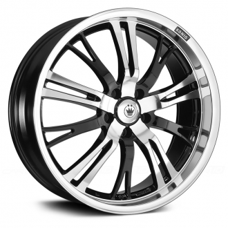 KONIG - UNKNOWN Gloss Black with Machined Face and Lip